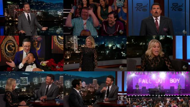 Jimmy Kimmel 2017 09 18 Julie Bowen 720p HDTV x264-CROOKS