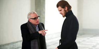 Martin Scorsese directing Andrew Garfield on the set of Silence Oscars 2017: The Biggest Snubs Of The Year
