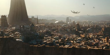 Planet Jedha in Star Wars Rogue One Will the Star Wars TV Show Revive George Lucas Failed Underworld Series?