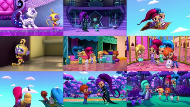 Shimmer And Shine S02e01 Welcome To Zahramay Falls 1080p Nick Webrip