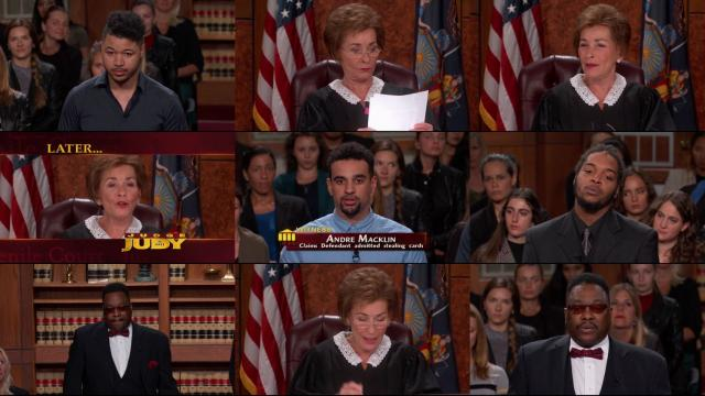 judge judy house of stolen cards