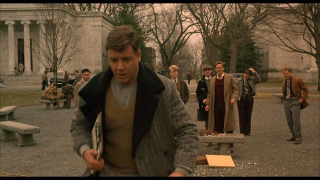 the gifts and curses of john nash in the film a beautiful mind