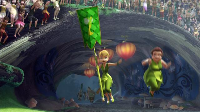 Download Tinker Bell and the Pixie Hollow Games (2011) {English With Subtitles} 1080p [350MB]