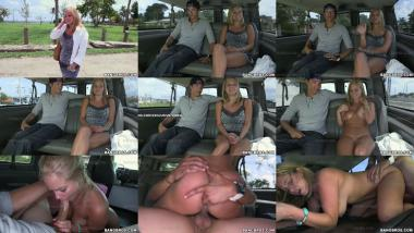 Bangbus blonde with big natural tits gets creampie anabelle pync