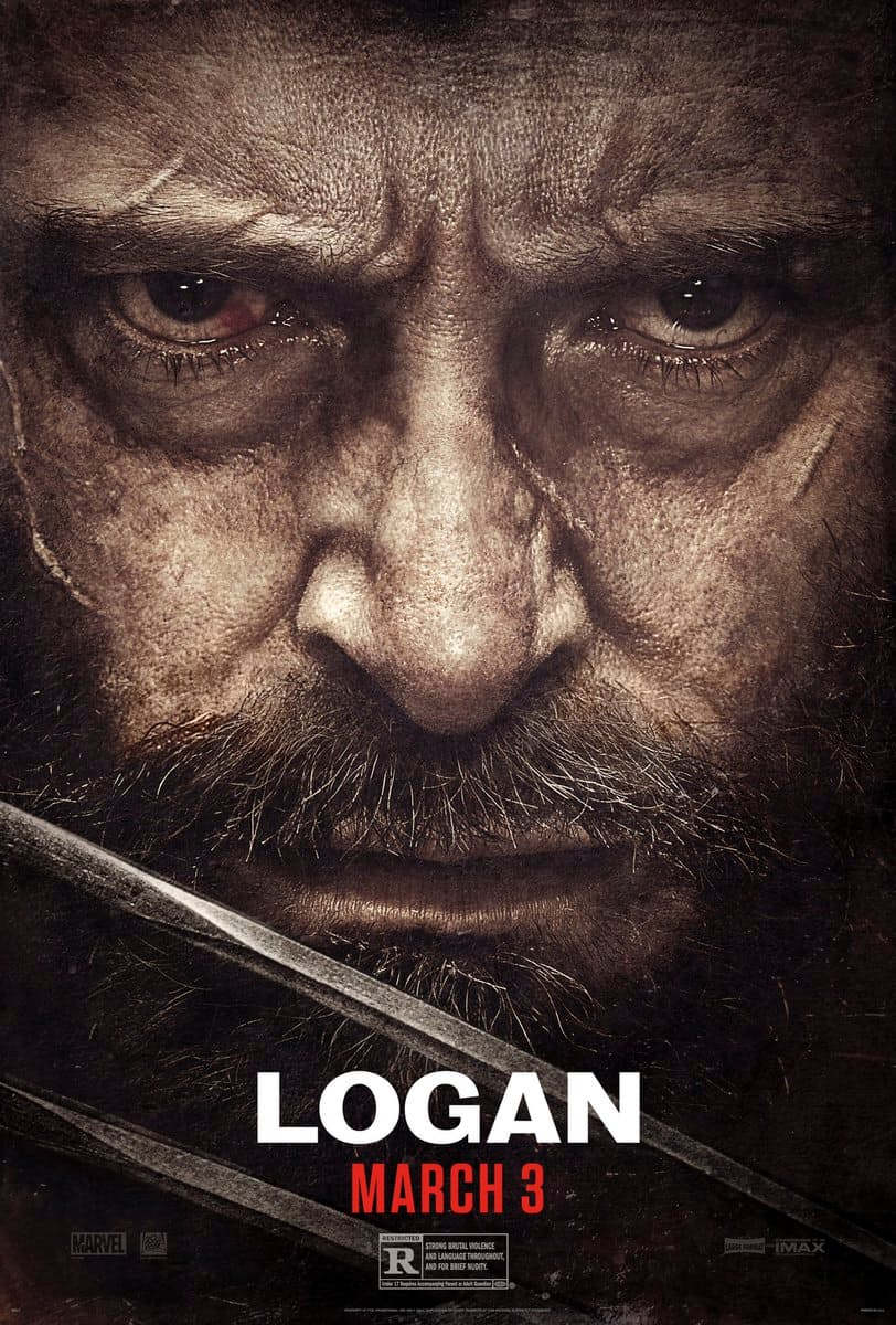 Logan poster Wolverine Logan: Wolverine Looks Worse For Wear In New Poster